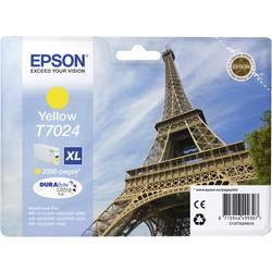 Náplň do tlačiarne Epson T7024, XL C13T70244010, žltá