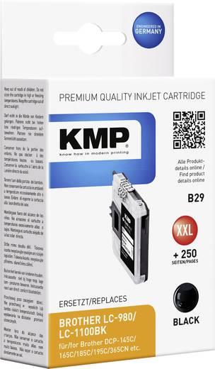 KMP Tinte ersetzt Brother LC-980, LC-1100 Kompatibel Schwarz B29 1521,5221