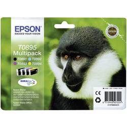 Sada náplní do tlačiarne Epson T0895 C13T08954010, čierna, zelenomodrá, purpurová, žltá