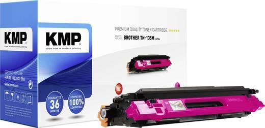 KMP Toner ersetzt Brother TN-135 Kompatibel Magenta 4000 Seiten B-T26
