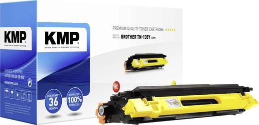 KMP Toner ersetzt Brother TN-135 Kompatibel Gelb 4000 Seiten B-T27