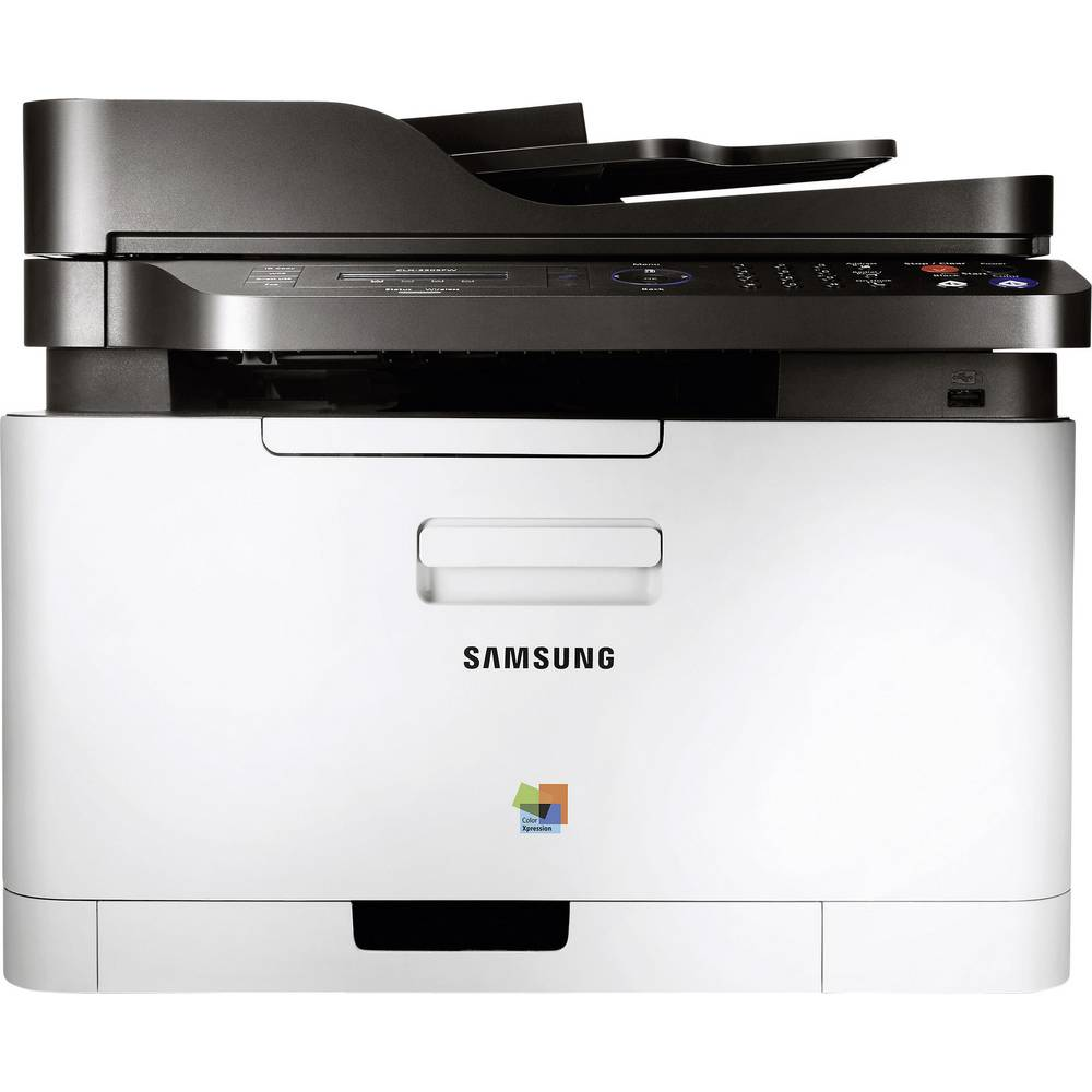 samsung clx 3305fn stampante laser a colori multifunzione a4 stampante scanner copiatrice fax. Black Bedroom Furniture Sets. Home Design Ideas