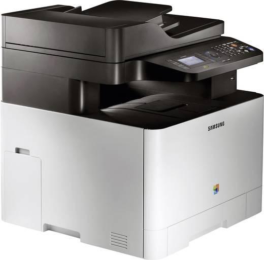 Samsung CLX-4195FN Farblaser-Multifunktionsdrucker A4 Drucker, Scanner, Kopierer, Fax LAN, ADF