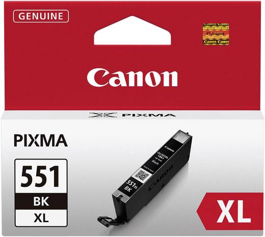 Canon Tinte CLI-551BK XL Original Photo Schwarz 6443B001