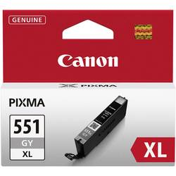 Náplň do tlačiarne Canon CLI-551GY XL 6447B001, šedá