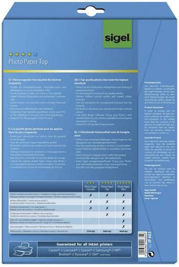Fotopapier Sigel Photo Paper Top IP663 DIN A4 125 g/m² 25 Blatt Hochglänzend