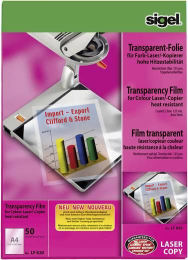 Laser Overhead-Folie Sigel LF620 LF620 DIN A4 Transparent 50 St.