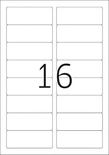 Herma 4420 Etiketten 88.9 x 33.8 mm Acetatseide Weiß 400 St. Wiederablösbar Namens-Etiketten, Textil-Etiketten