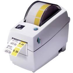 Tiskárna štítků termotransferová Zebra TLP 2824 Plus, Šířka etikety (max.): 60 mm, USB, LAN