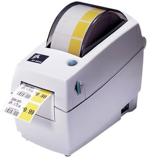 Zebra TLP 2824 Plus Etiketten-Drucker Thermotransfer 203 x 203 dpi Etikettenbreite (max.): 60 mm USB, LAN