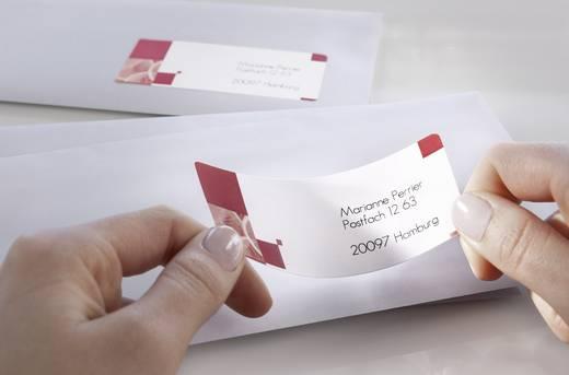 Avery-Zweckform J8177-25 Etiketten (A4) 99.1 x 42.3 mm Papier Weiß 300 St. Permanent Adress-Etiketten, Universal-Etikett