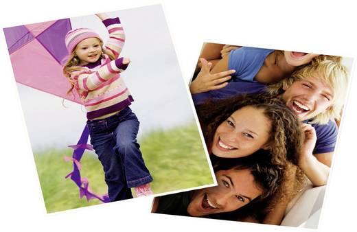 Fotopapier Avery-Zweckform 2496-50 2496-50 DIN A4 180 g/m² 50 Blatt Glänzend