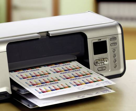 Bedruckbare Visitenkarten, glatte Kanten Avery-Zweckform C32026-25 85 x 54 mm 270 g/m² Ultra-Weiß 250 St.