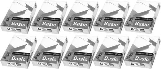 Universal Druckerpapier International Paper IP Basic 88070920 10er Set DIN A4 5000 Blatt Weiß