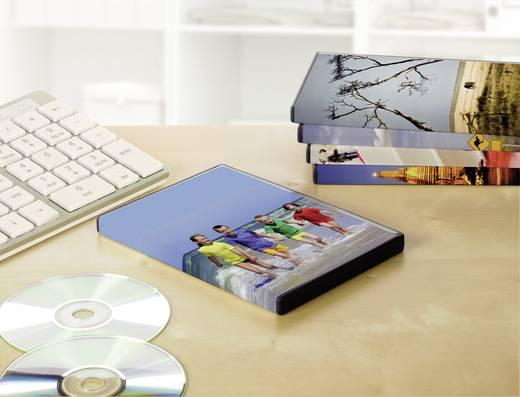 DVD Box Einleger Avery-Zweckform J8437-25 273 x 183 mm Spezialbeschichtet Tinte 25 St. Weiß