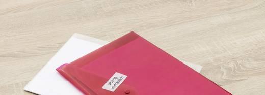 Avery-Zweckform L6112-20 Etiketten Ø 40 mm Polyester-Folie Weiß 480 St. Permanent Sicherheits-Etiketten