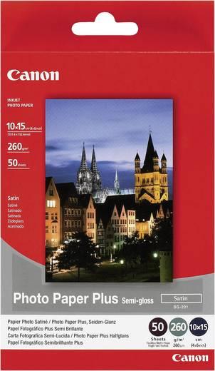 Fotopapier Canon Photo Paper Plus Semi-gloss SG-201 1686B015 10 x 15 cm 260 g/m² 50 Blatt Seidenglänzend