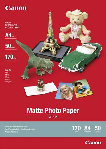 Fotopapier Canon Matte Photo Paper MP-101 7981A005 DIN A4 170 g/m² 50 Blatt Matt