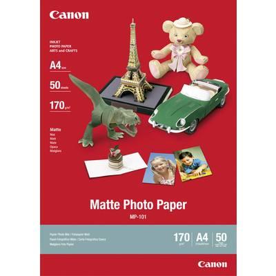 Canon Matte Photo Paper MP-101 7981A005 Fotopapier DIN A4 170 g/m² 50 Blatt Matt Preisvergleich