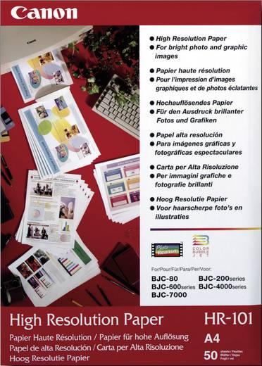 Fotopapier Canon HR-101 1033A002 DIN A4 106 g/m² 50 Blatt Matt
