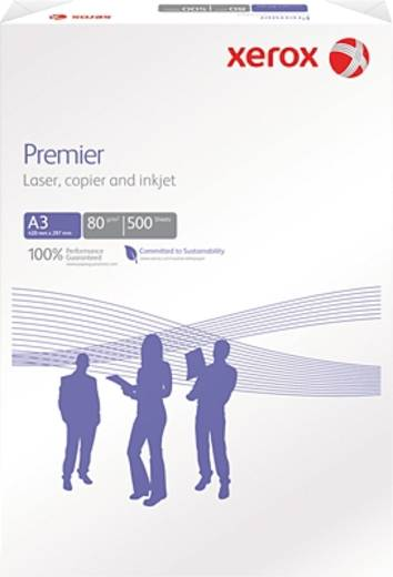 Xerox Druckerpapier, Premier ECF, DIN A3, 80 g/m², 500 Blatt N/A