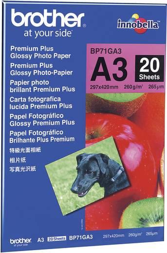 Brother Innobella Premium Fotopapier, BP71GA3, , , , 20 Blatt