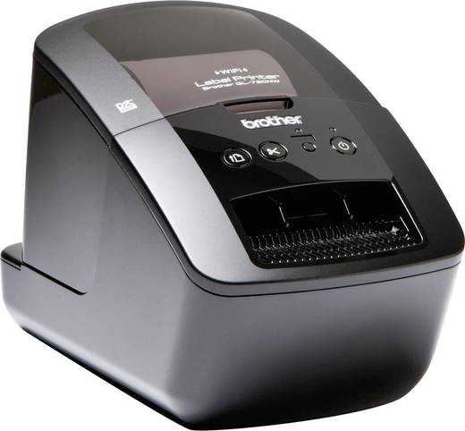 Brother QL-720NW Etiketten-Drucker Thermodirekt 300 x 600 dpi Etikettenbreite (max.): 62 mm USB, LAN, WLAN