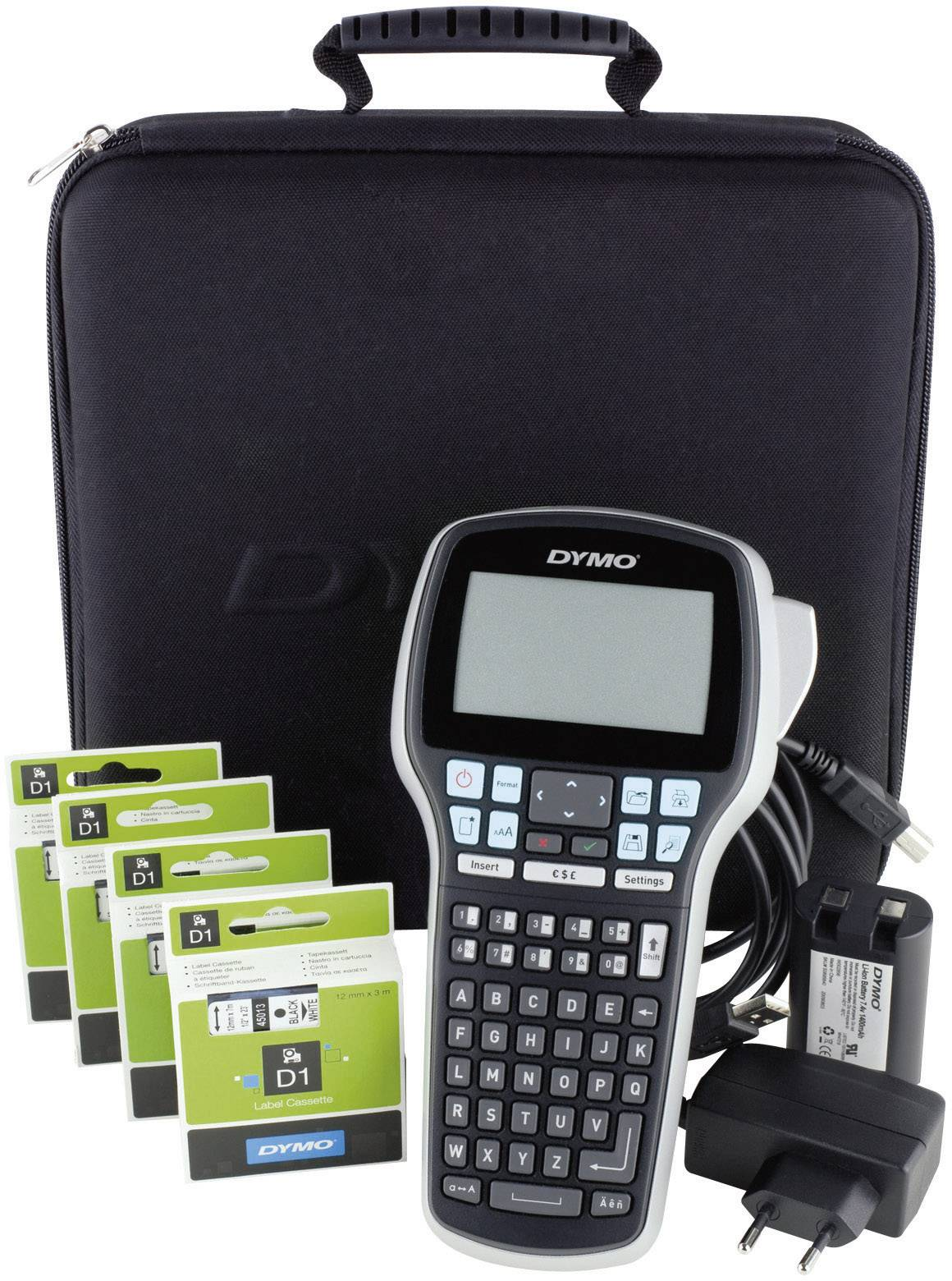 *** DYMO LABELMANAGER LABEL MANAGER 420P 420 P M.KOFFER