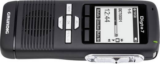 Digitales Diktiergerät Grundig Business Systems Digita 7 Premium Set Aufzeichnungsdauer (max.) 300 h Schwarz/Silber