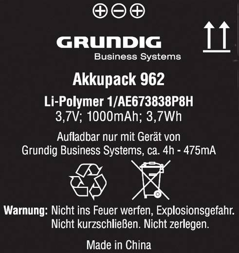 Digitalgerät-Zubehör Grundig Business Systems Digta accupack 962 GCM9620