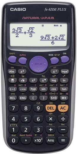 Schulrechner Casio fx-82DE PLUS Schwarz Display (Stellen): 12 batteriebetrieben (B x H x T) 80 x 13.8 x 162 mm