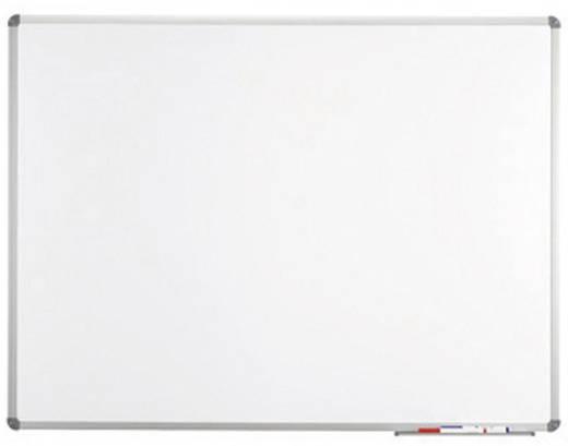 Maul Whiteboard MAULstandard (B x H) 200 cm x 100 cm Weiß kunststoffbeschichtet Inkl. Ablageschale, Quer- oder Hochforma