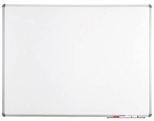 Maul Whiteboard MAULstandard, Emaille (B x H) 200 cm x 100 cm Weiß emaillebeschichtet Inkl. Ablageschale, Quer- oder Hoc