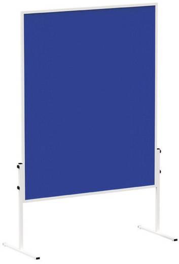Maul Moderationstafel MAULsolid (B x H) 120 cm x 150 cm Blau Inkl. Rollen, Pinntafel, beidseitig verwendbar 6365482