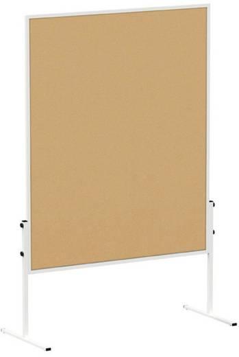 Maul Moderationstafel MAULsolid (B x H) 120 cm x 150 cm Braun Inkl. Rollen, Pinntafel, beidseitig verwendbar 6365882