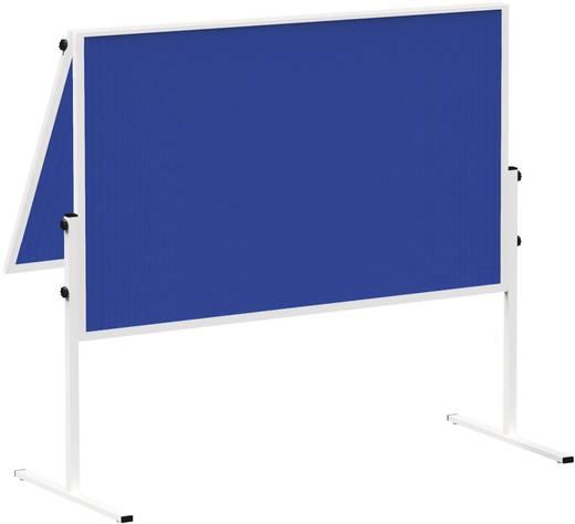 Maul Moderationstafel Solid klappbar Filz Blau 6366482