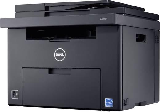 Dell C1765NFW Farblaser-Multifunktionsdrucker A4 Drucker, Scanner, Kopierer, Fax LAN, WLAN, ADF