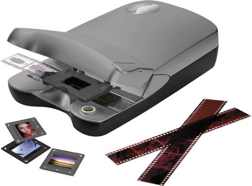 Reflecta CrystalScan 7200 Diascanner, Negativscanner 7200 x 3600 dpi Staub- und Kratzerentfernung: Hardware