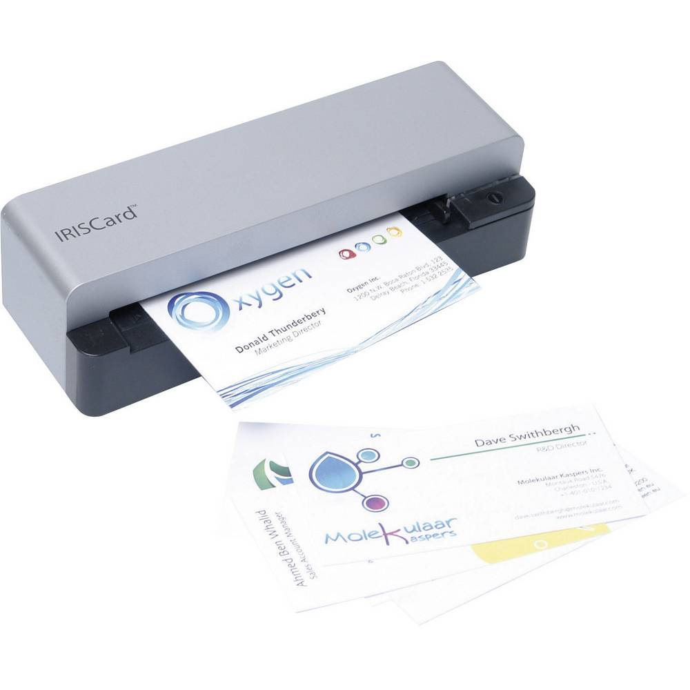 Business card scanner A6 IRIS by Canon IRISCard Anywhere 5 USB from ...