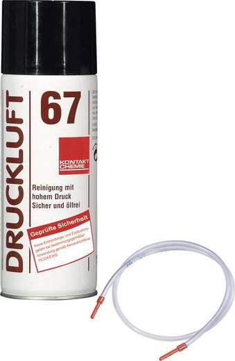 CRC Kontakt Chemie Druckluft 67 Druckluftspray nicht brennbar, inkl. Sprühschlauch 400 ml
