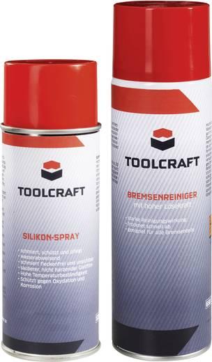 TOOLCRAFT Silikonspray 400 ml und Bremsenreiniger 500 ml 1 Set