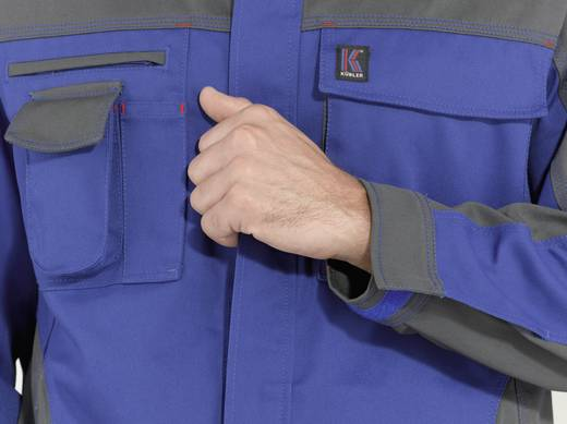 Kübler Active Wear 349045 Jacke Image Vision Hellgrau, Korn-Blau 52