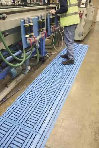 COBA Europe Work Deck Polyethylen - Fußbodenplatte Blau LxBxH (1.2 m x 0.6 m x 25 mm)