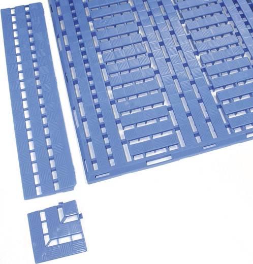 COBA Europe Work Deck Kante Randleiste Blau LxBxH (0.6 m x 112 mm x 25 mm)