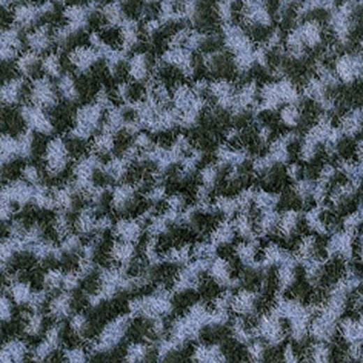VYNA PLUSH; EING.MATTE BLK/BLU 0.9x0.6 m