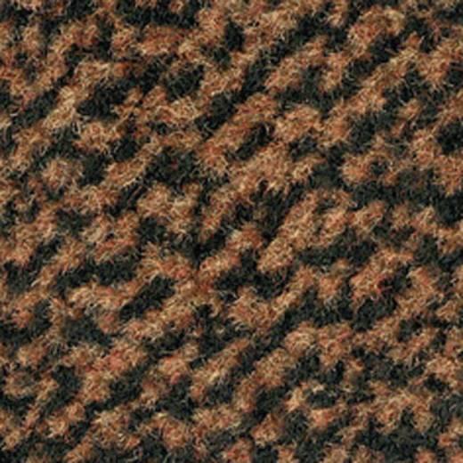 COBA Europe Eingangsmatte Vyna-Plush Schwarz, Braun LxBxH (1.8 m x 1.2 m x 7 mm)