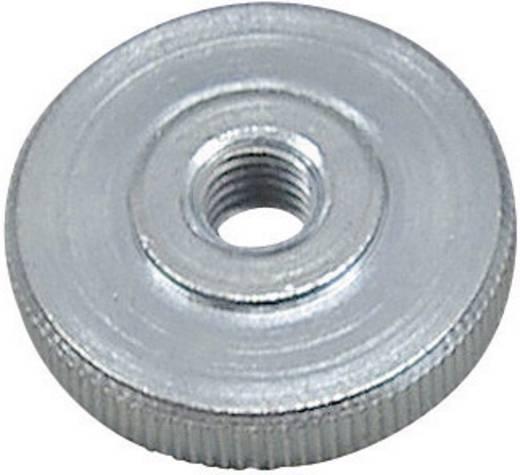 Rändelmuttern M4 DIN 467 Stahl verzinkt 10 St. TOOLCRAFT DIN 467 - 5 ZN