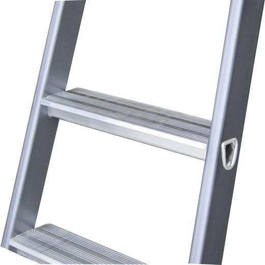 Aluminium Stufen-Stehleiter Arbeitshöhe (max.): 2.85 m Krause 124180 Silber, Blau 4.2 kg