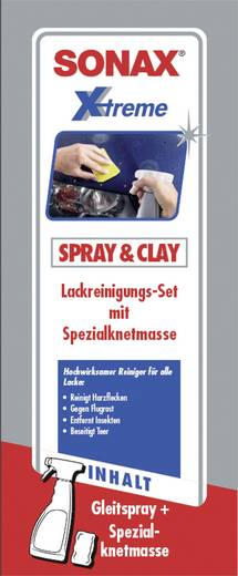 Lackreiniger Sonax Xtreme Spray & Clay 203241 1 Set