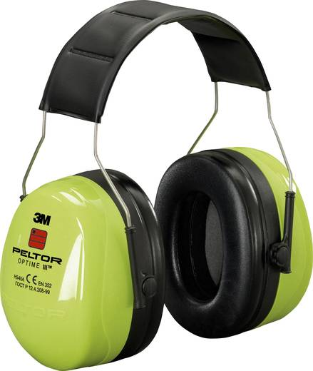 Kapselgehörschützer 35 dB Peltor Optime III HVS H540AV 1 St.